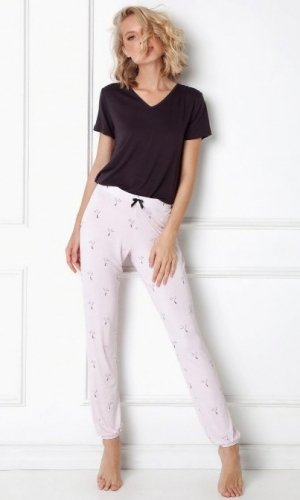 Piżama Aruelle Cassandra Long kr/r XS-2XL