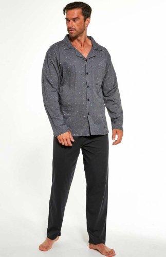Piżama męska rozpinana Cornette 114/49 MAXI
