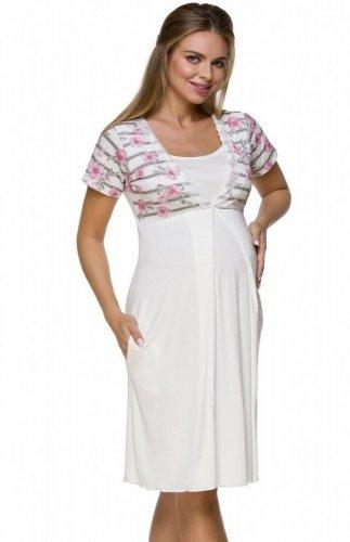 Koszula nocna ciążowa Lupoline 3121