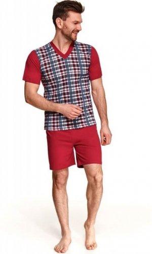 Piżama Taro Roman 001 kr/r 2XL-3XL L'21