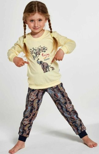 Piżama Cornette Kids Girl 594/133 Elephants 86-128
