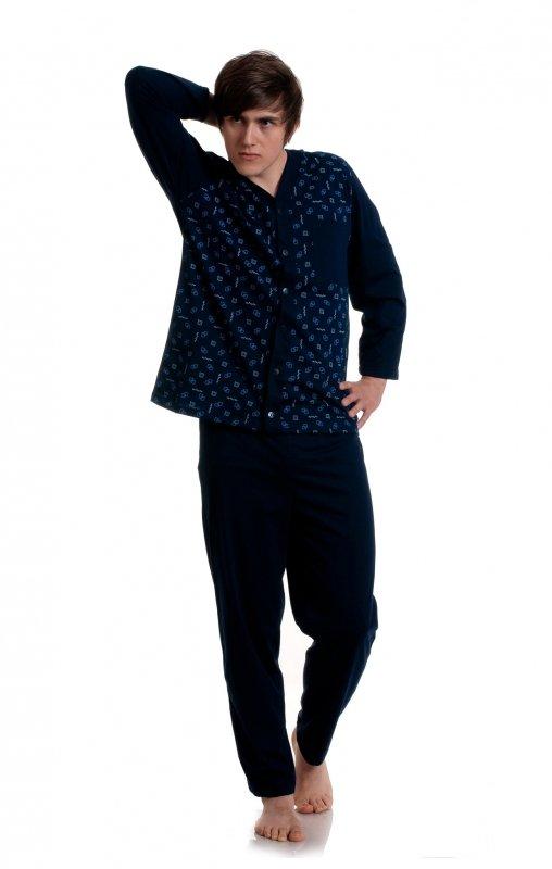 Piżama Gucio rozpinana męska 284 dł/r M-2XL