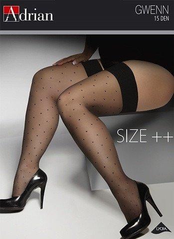 Pończochy Adrian Gwenn Size ++ 15 den