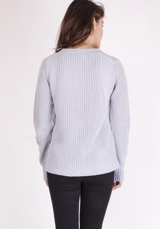 Sweter Victoria SWE 123 Jasny szary