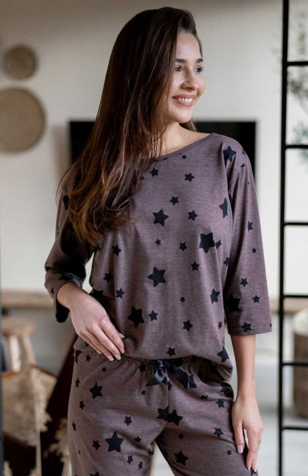 Piżama damska Sensis 3/4 Woman Star