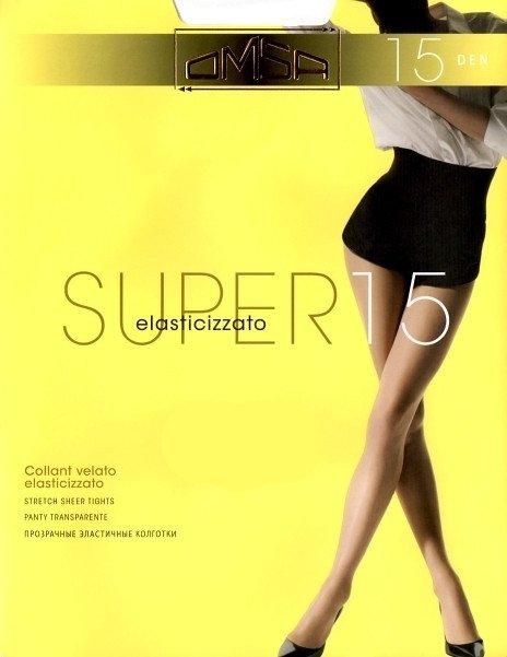 Rajstopy Omsa Super 15 den