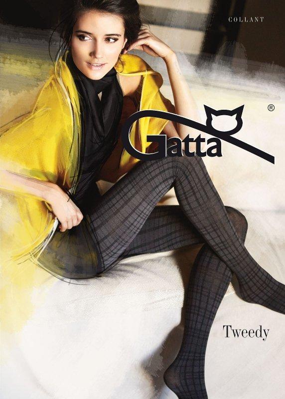 Rajstopy Gatta Tweedy 60 den nr 01