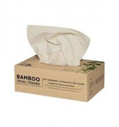 3-warstwowe chusteczki bambusowe w kartoniku, 100 sztuk, ZUZii