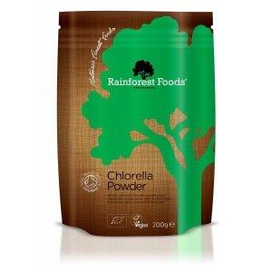 Chlorella BIO, Rainforest Foods 200g