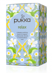 Herbata Relax - Pukka, 20 saszetek