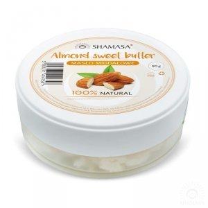 Masło migdałowe 90g, Shamasa
