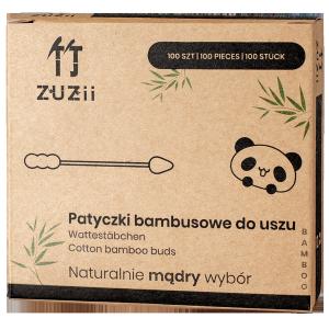 Bambusowe patyczki kosmetyczne, 100 sztuk, ZUZii