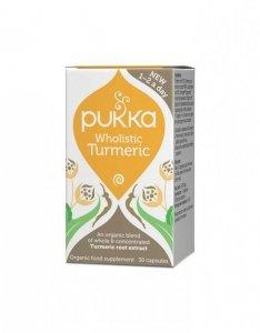 Wholistic Turmeric (kurkuma) - Pukka, kapsułki