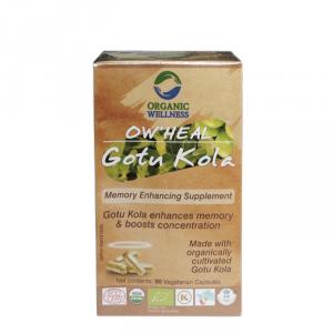 Gotu Kola w kapsułkach, Organic Wellness
