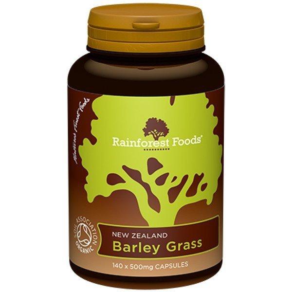 Trawa Jęczmienna BIO, Rainforest Foods (140tab.)