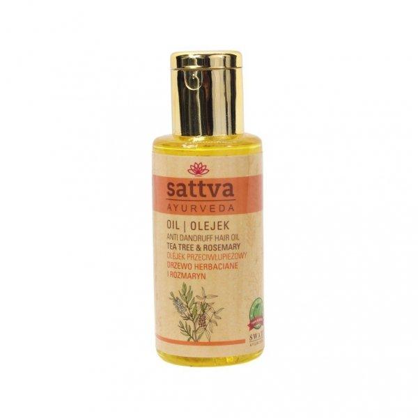 Olejek do włosów przeciwłupieżowy, Sattva 100ml