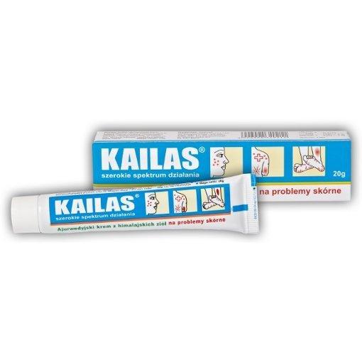 Ajurwedyjski krem Kailas na problemy skórne