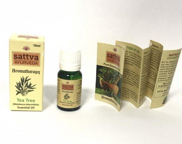Drzewo herbaciane olejek eteryczny Sattva 10ml