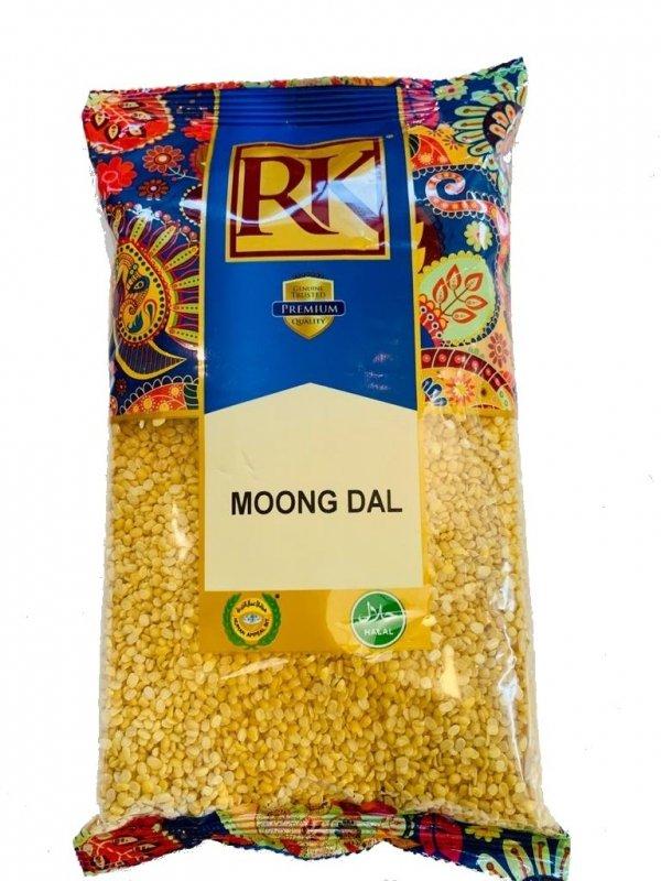 Żółta fasola mung dal, RK