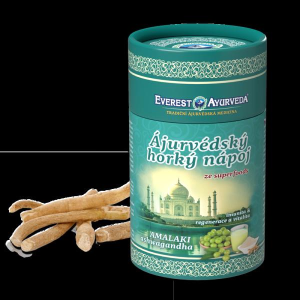 Napój amalaki (amla) z ashwagandhą - odporność, regeneracja i witalność, 100g