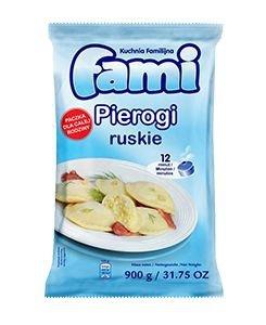 [FAMI] Pierogi ruskie 900g po 6szt.