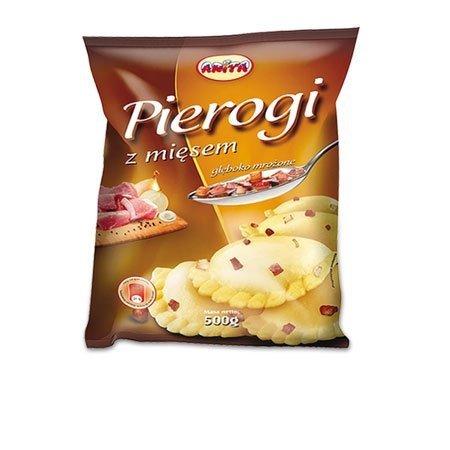 [ANITA] Pierogi z mięsem 500g/12