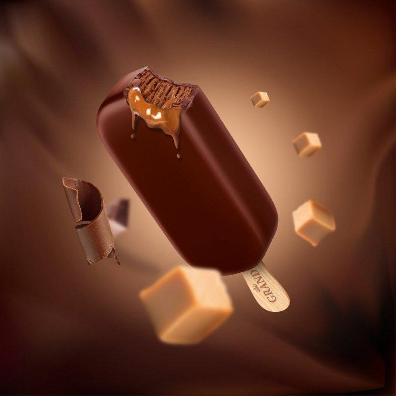 [KORAL] GRAND GOLD Chocalate w czekoladzie 120ml/24