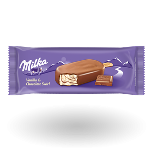 [MONDELEZ] Milka chocolate- vanilla 110ml/20