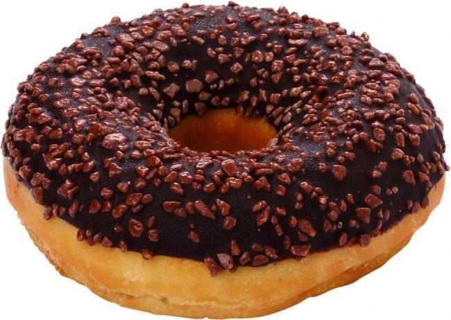 [La Loraine] donut z polewa czekoladowa 58g/48szt