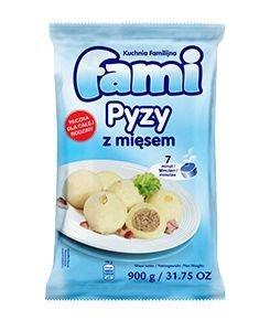 [FAMI] Pyzy z mięsem 900g po 6szt.