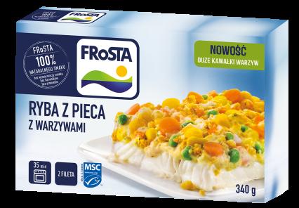 [FROSTA] Ryba z pieca z warzywami 340g/12