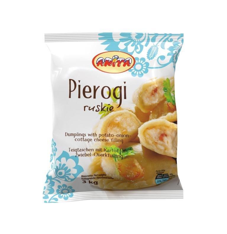[ANITA] Pierogi ruskie 3kg/4