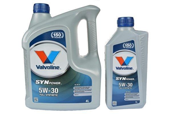 VALVOLINE SYNPOWER XTREME 5W30 XL III C3 5L 4L+1L