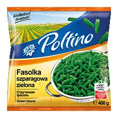 1011 Poltino Fasolka Szparagowa Zielona 400g 1x12