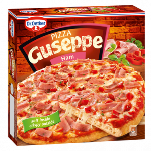 4006 Guseppe Pizza z Szynką 410g 1x5