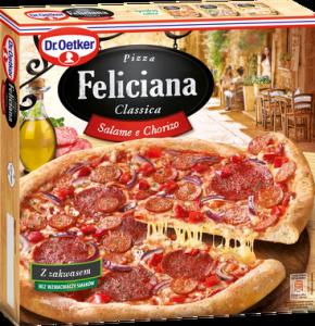 4013 Feliciana Pizza Salami e Chorizo 320g 1x5