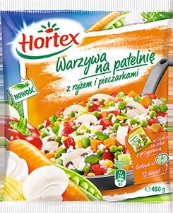 1126 Hortex WNP Ryz Pieczarki 400g 1x25