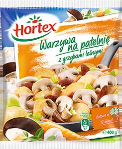 1112 Hortex WNP Grzyby Leśne, julienne 400g 1x14
