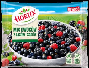 1247 Hortex Mix owocow z lasow i sadow 300g 1x14