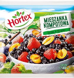 1156 Hortex Mieszanka kompotowa 450g 1x14
