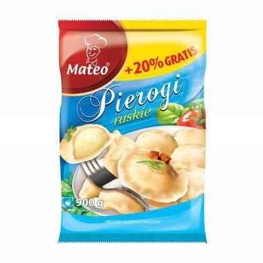 7013 Mateo Pierogi Ruskie 900g (1x6)