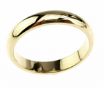 ring 21,60mm gold stainless steel