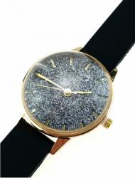 107b Damski zegarek złoty gumowy KURREN
