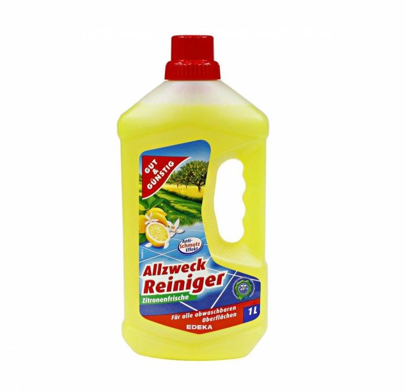 G&G Allzweck Reiniger Zitronenfrische płyn do mycia podłóg 1 l