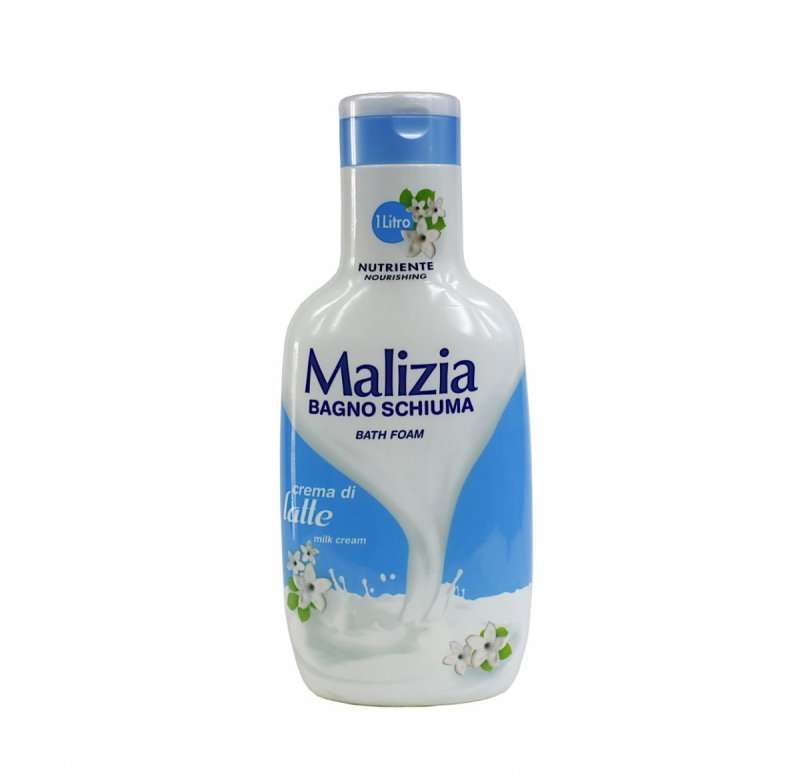 Malizia Creme di Late płyn do kąpieli 1000 ml