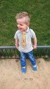 Krawat dla chłopca Jędrek