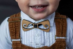 Bow ties and ties for boys