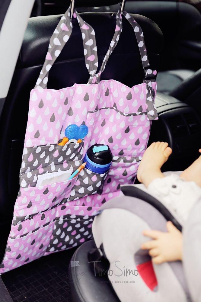Organizer do samochodu dla dzieci Kolorowy Deszczyk