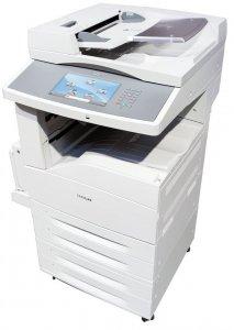 Lexmark X860de Laserowa drukarka wielofunkcyjna przebiegi do 100 tysięcy stron