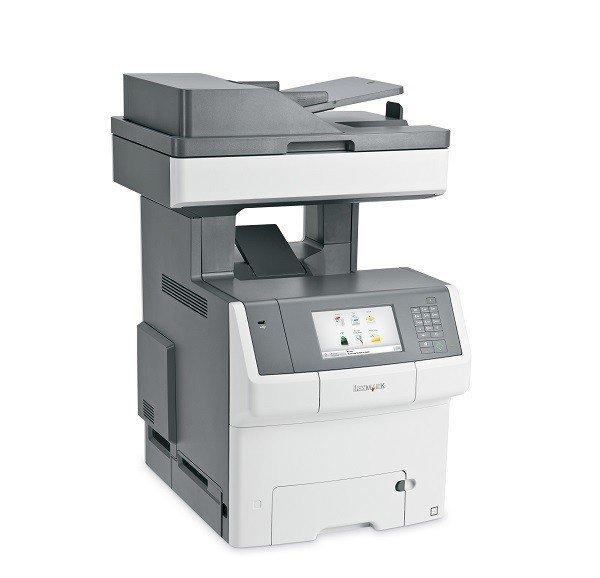 Wielofunkcyjna drukarka LEXMARK XS748DE przebieg 80601 str.